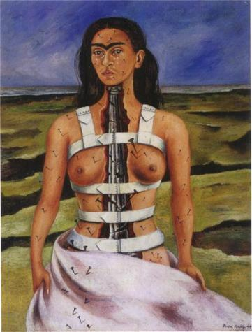 The Broken Column - Frida Kahlo, 1944