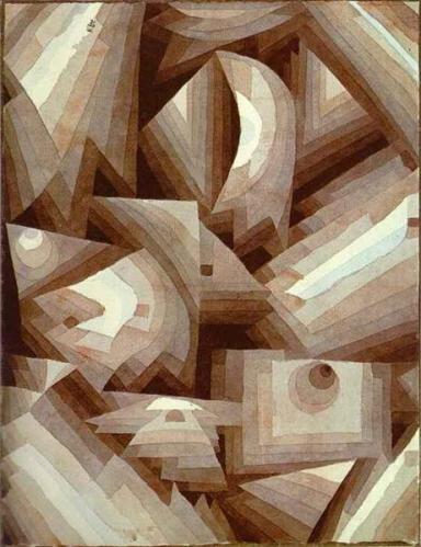 Crystal - Paul Klee, 1921