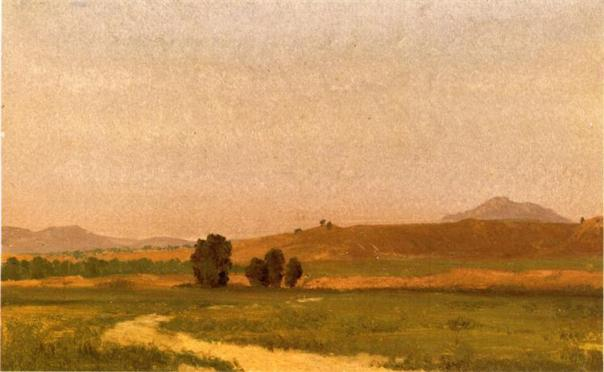 Nebraska on the Plain - Albert Bierstadt, 1911