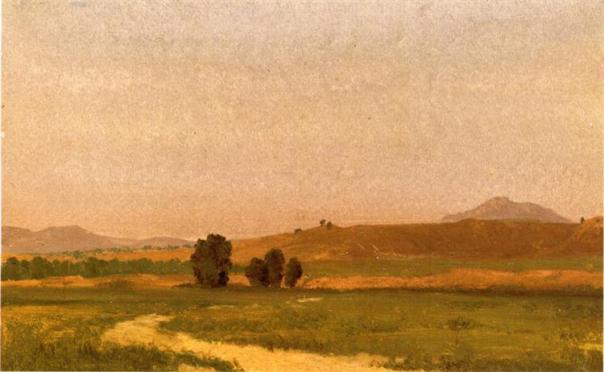 Nebraska on the Plain - Albert Bierstadt, 1911