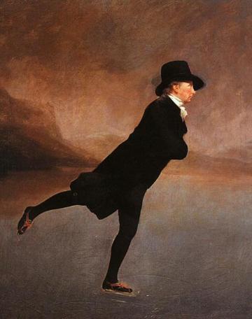 The Skating Minister - Henry Raeburn, 1784