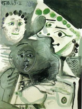 Family - Pablo Picasso, 1965