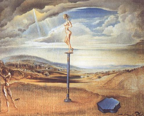 Fountain of Milk... - Salvador Dali, 1945