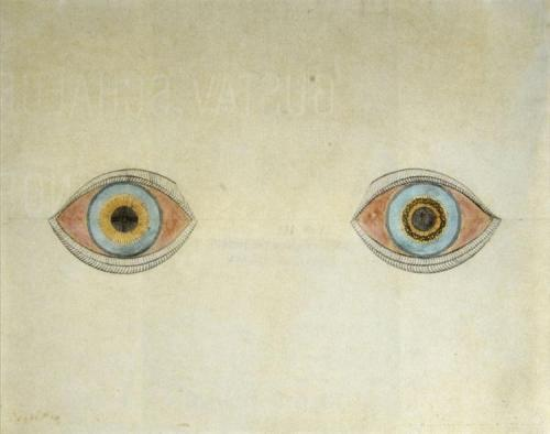 My Eyes in the Time of Apparition - August Natterer, 1913