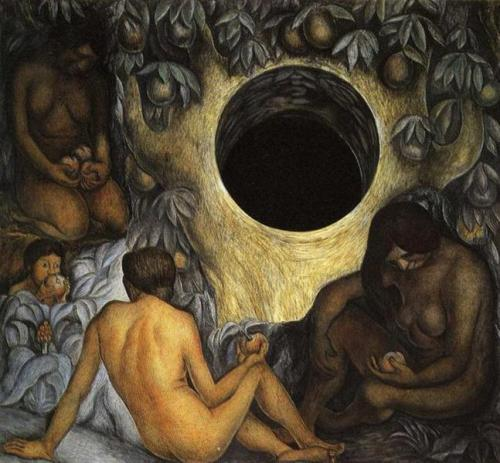 The Abundant Earth - Diego Rivera, 1926