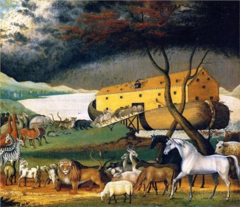 Noah's Ark - Edward Hicks, 1846