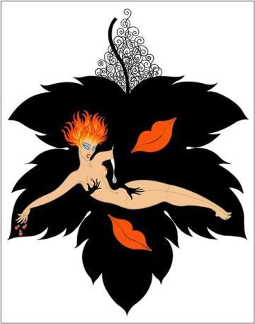 The Seven Deadly Sins, Lust - Erte