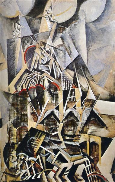 Grand Central Terminal - Max Weber, 1915